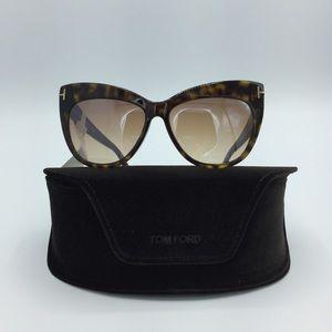Tom Ford Italy Tortoise Cat Eye Sunglasses